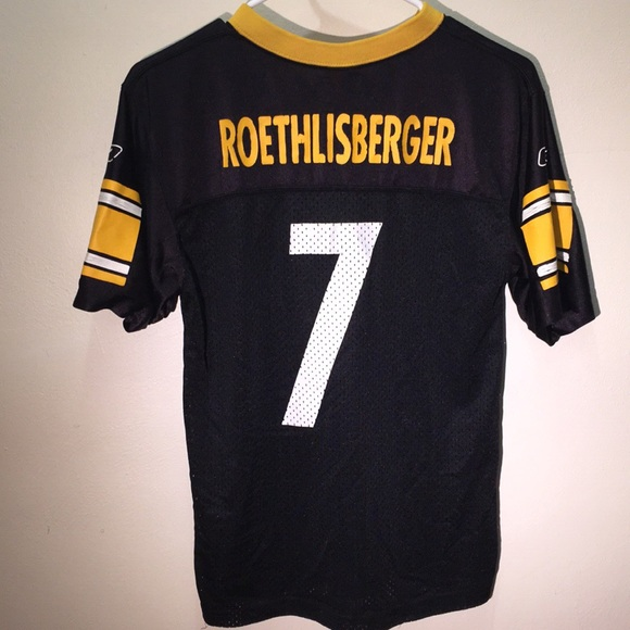 reputable site 99e39 c7943 Steelers Big Ben 7 Roethlisberger Jersey
